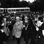 1973. október 12-én a Szegedi Orvostudományi Egyetem díszdoktorává avatta Szent-Györgyi Albertet