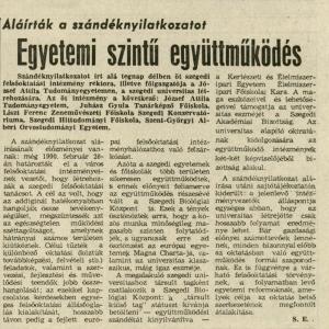 Délmagyarország, 1991. március 15., p. 3.