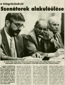 Délmagyarország, 1998. május 26., p. 7.