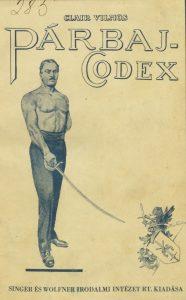 ClairVilmosParbaj-Codex1934_Előlap