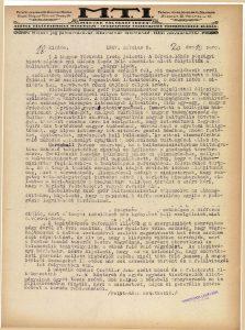 Collegium Hungaricumról. In: Magyar Távirati Iroda, Napi Hírek, 1927.