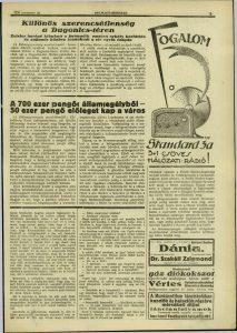 Délmagyarország, 1930. november, 199. oldal