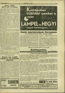 Délmagyarország, 1930. november, 29. oldal