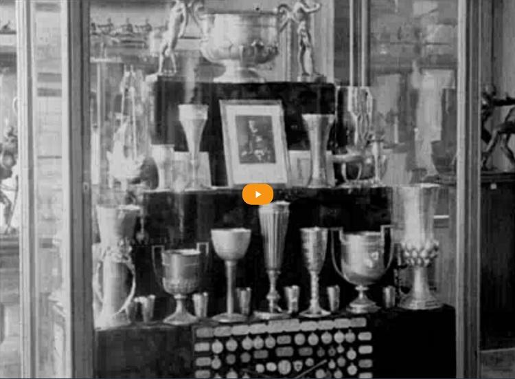 Filmhíradók Online: Magyar Sporttörténeti Kiállítás a Nemzeti Múzeumban - 1926 május