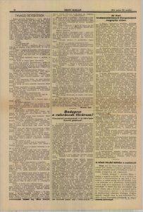 Az első irodalomtörténeti kongresszus megnyitó ülése. In: Pesti Hírlap, 1931. Forrás: ADT.