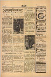 A kormányzó ünnepélyesen megnyitotta a természettudományok kongresszusát. In: Az Est, 1926. Forrás: ADT.