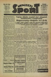 Sportminiszter. In. Nemzeti Sport, 21. 1929. augusztus 23. 1.
